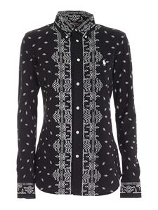 POLO Ralph Lauren - Contrasting prints shirt in black