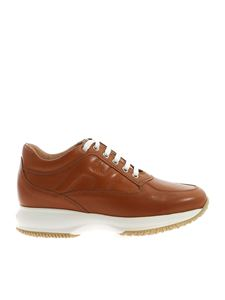 Hogan - Interactive sneakers in brown