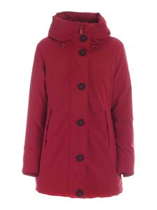 Save the duck - Smegy red parka with hood