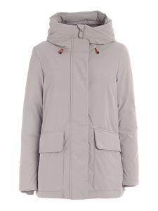 Save the duck - Smegy grey parka with hood