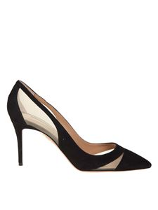 Aquazzura - Decollete 'savoy in black suede