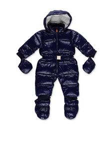 Save the duck - Blue snowsuit