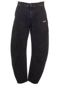 Off-White - Jeans baggy neri