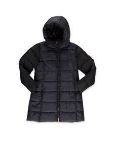 Save the duck - Flared down jacket in black