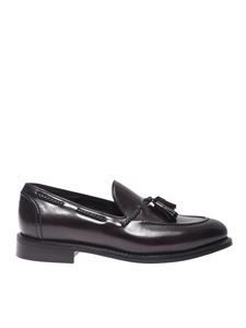 Barrett - Tassels loafers in dark brown