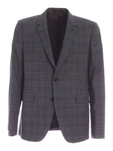 Paul Smith - Checked pattern suit in blue