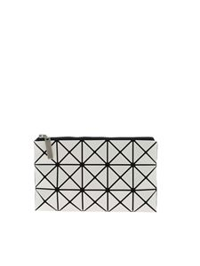 BAO BAO Issey Miyake - Prism Flat Pouch clutch bag in white