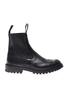 Tricker's - Henry chealsea boots in black