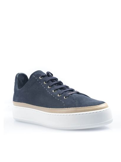 Max Mara - Tasmin sneakers in midnight blue