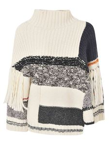 Max Mara Weekend - Re-Find pullover in cream color and black