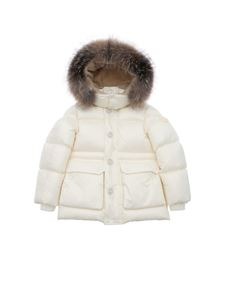 Moncler Jr - Armoricano down jacket in white