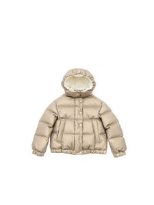 Moncler Jr - Daos down jacket in gold color