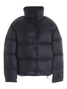 Acne Studios - Quilted down jacket in black