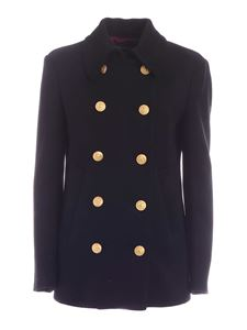 Department 5 - Double-breasted jacket in black