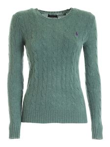 POLO Ralph Lauren - Wool and cashmere pullover in green