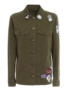 Golden Goose - Angiolina jacket in green