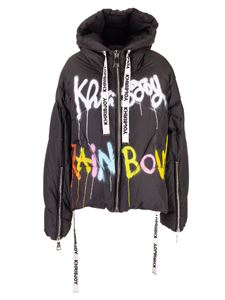 Khrisjoy - Khris Graffiti down jacket in black