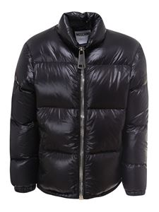 Moschino - Short padded puffer in black