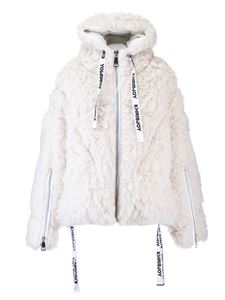 Khrisjoy - Khris Alpaca down jacket in off-white