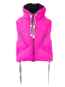 Khrisjoy - Kh sleeveless down jacket in reflective pink