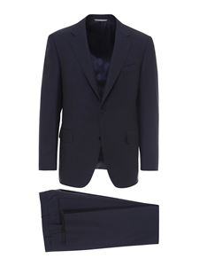 Canali - Wool suit in blue