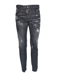 Dsquared2 - Jeans Cool Guy neri