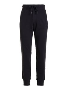 Versace Jeans Couture - Cotton tracksuit bottoms in black