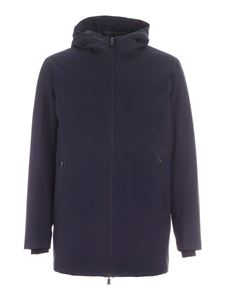 Herno - Removable interior jacket in blue