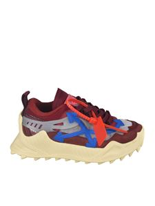 Off-White - Sneakers Odsy 1000 marroni