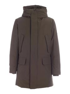 Save the duck - Copyy green parka with hood