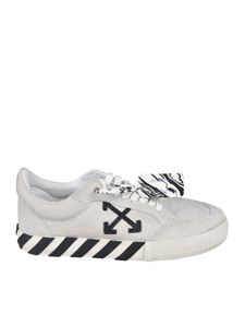 Off-White - Sneakers Pony Low Vulcanized bianche