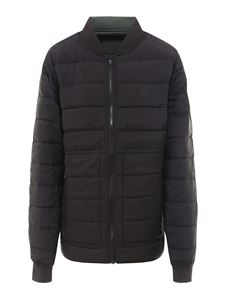 Kenzo - Quilted padded puffer in black