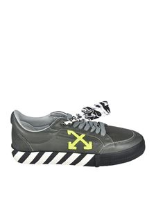 Off-White - Low vulcanized sneakers in green