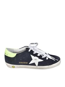 Golden Goose - Sneakers Super Star Classic blu