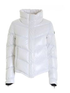 Colmar Originals - Glossy pointed bottom down jacket in white