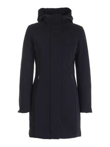 RRD Roberto Ricci Designs - Winter Long Lady black parka with hood