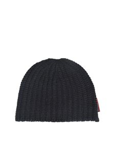 Dsquared2 - Ribbed beanie in black
