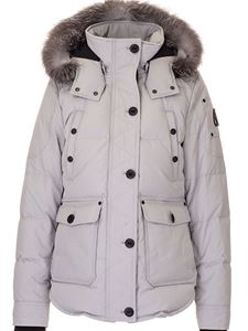 Moose Knuckles - Anguille down jacket in light grey