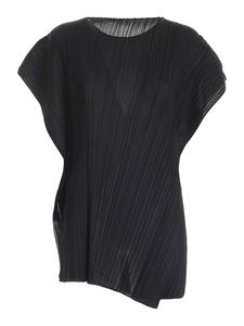 PLEATS PLEASE Issey Miyake - Motion Colors pleated dress in black