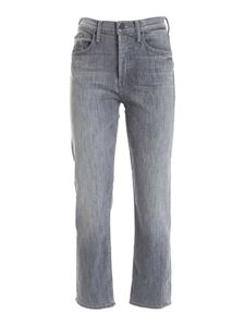 Mother - Jeans The Tomcat Ankle grigi