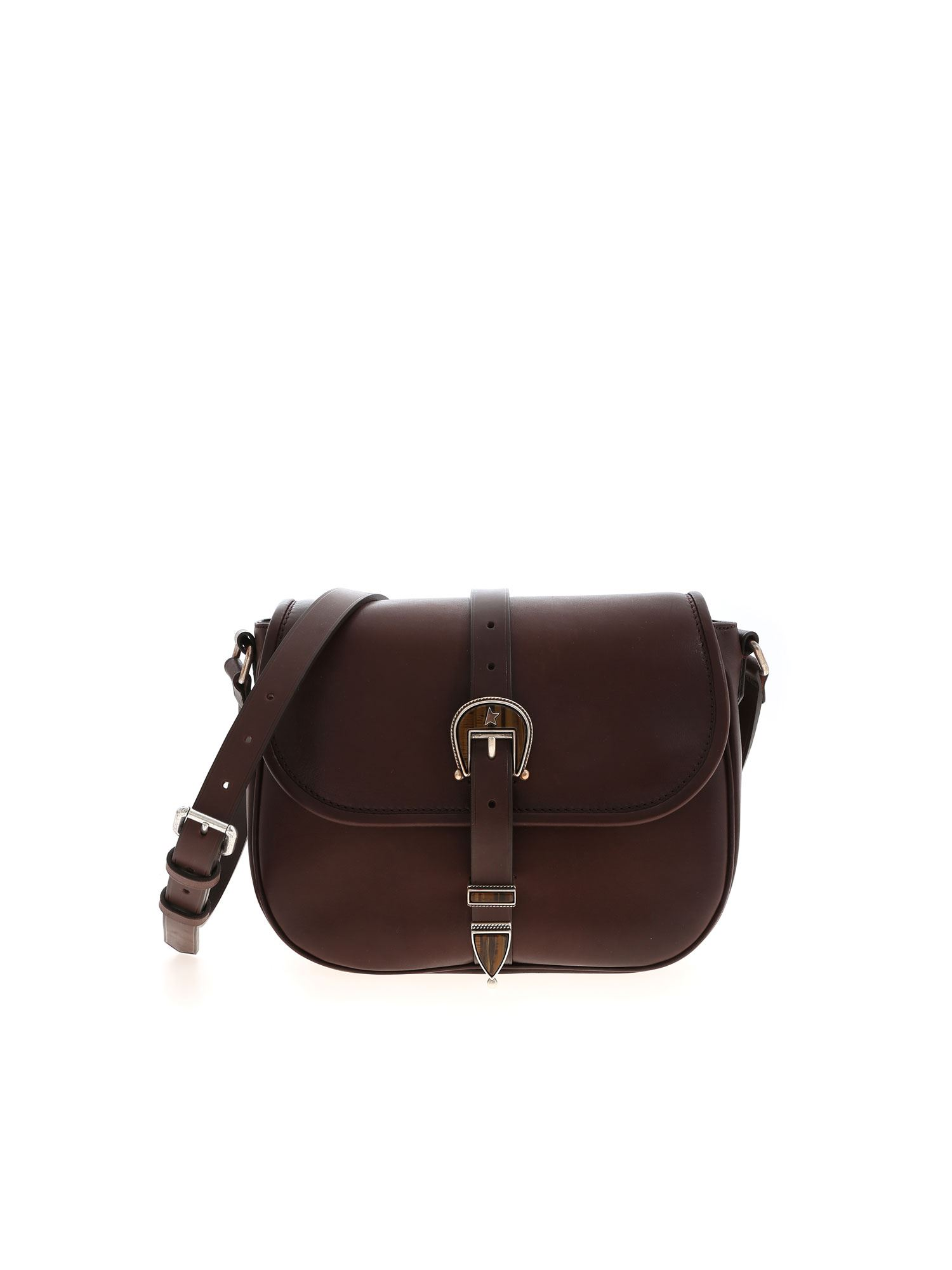 Golden Goose RODEO MEDIUM BAG IN BROWN