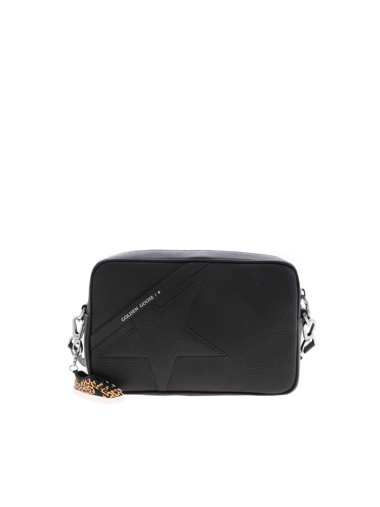 Golden Goose STAR SHOULDER BAG IN BLACK