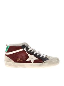 Golden Goose - Mid Star Classic sneakers in wine color