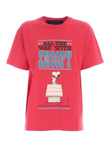 Marc Jacobs  - All The Way With Snoopy T-shirt in pink
