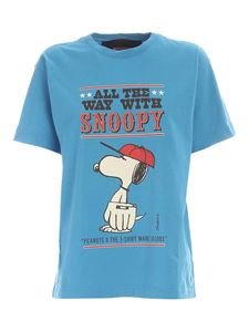 Marc Jacobs  - All The Way With Snoopy T-shirt in blue
