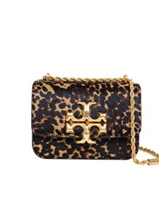 Tory Burch - Calf hair Eleanor shoulder bag in animalier