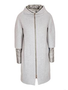 Herno - Padded coat in grey