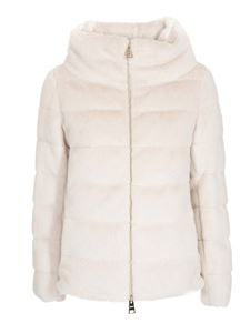 Herno - Chantilly padded eco fur
