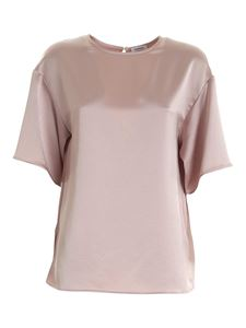 Parosh - Privat oversize blouse in powder pink color