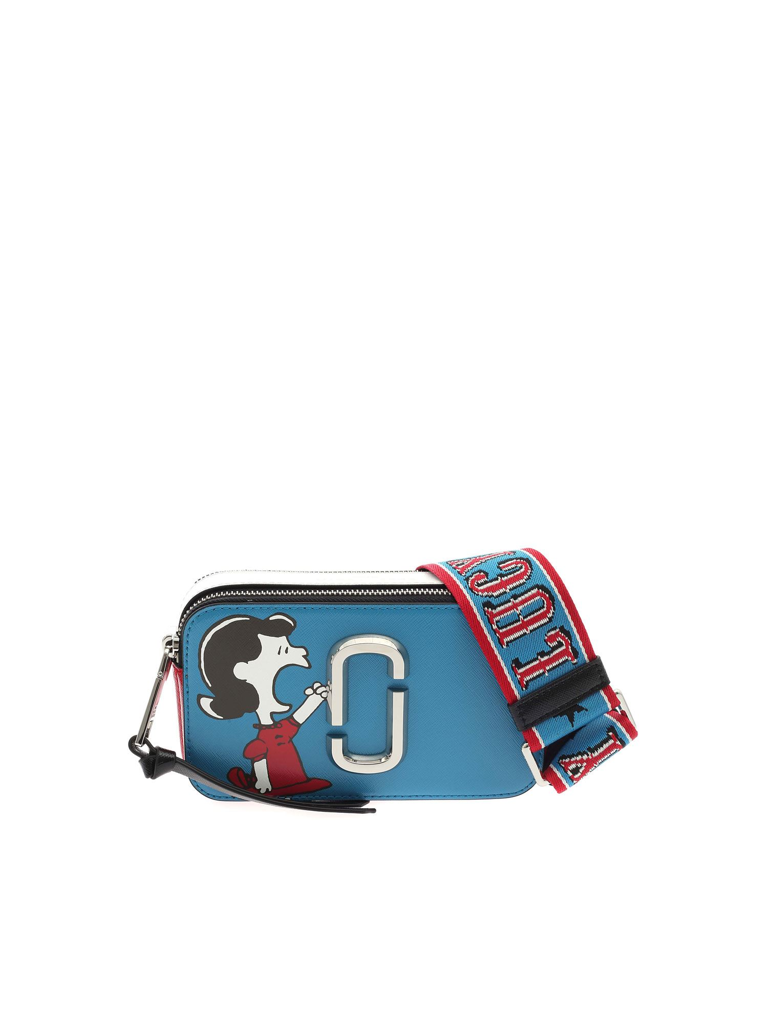 Marc Jacobs PEANUTS BAG IN BLUE WHITE AND RED